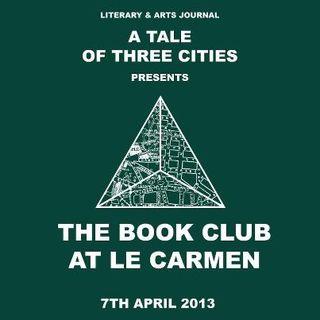 Book club at Le Carmen