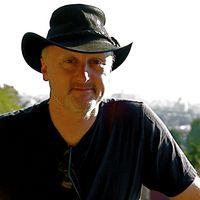 Barry Kirwan black hat