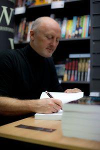 Barry Kirwan bookstore signing