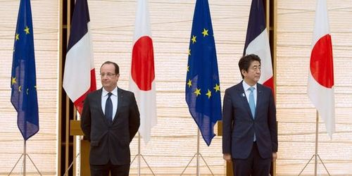 Hollande in japan