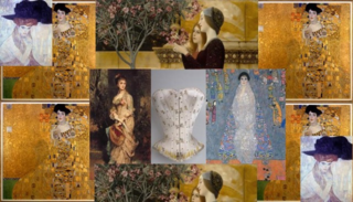 Neue klimt collage