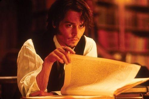 Depp reads