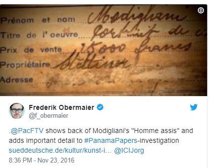 Frederik Obermaier Tweet