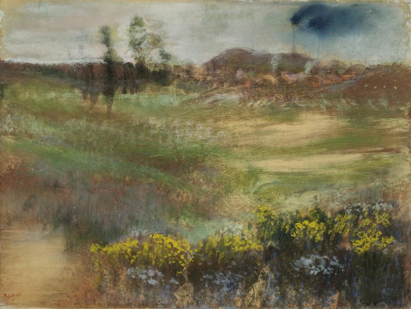 Degas Landscape New Image