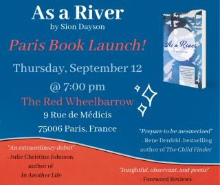 As a River Paris Book Launch