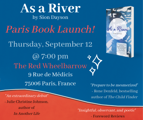 As a River Paris Book Launch